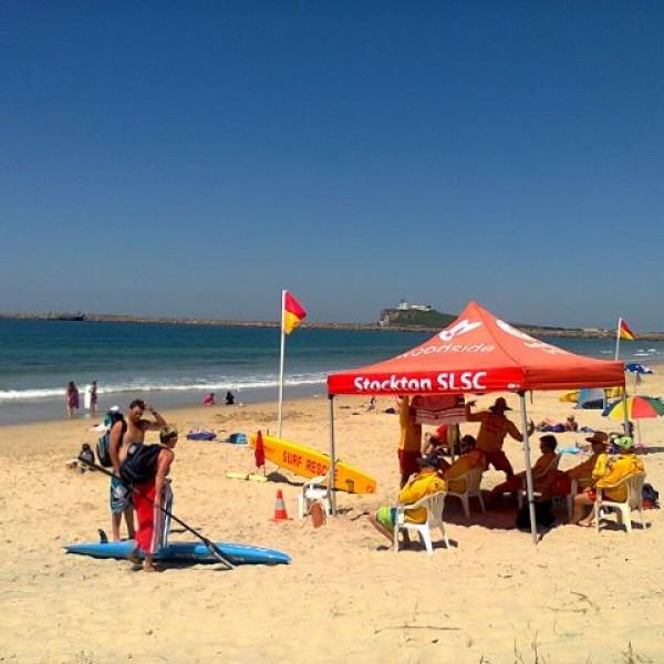 Stockton Beach on a Sunday afternoon